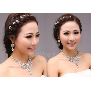 All Rhinestones And Crystals Bib Choker Statement Necklace 2016 Jewelry Trend Destination Wedding