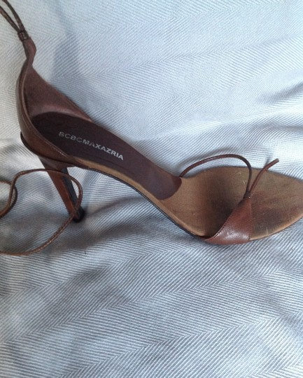 BCBGMAXAZRIA Brown leather Sandals