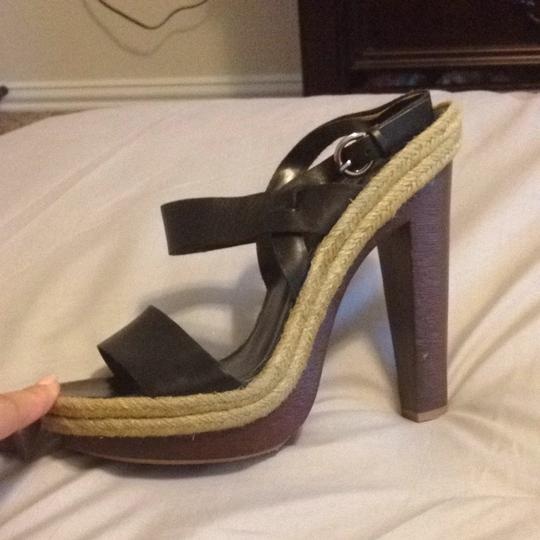 Jessica Simpson Black And Brown Sandals