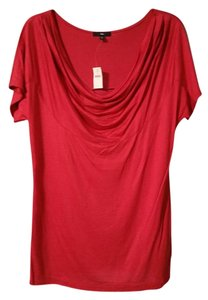 Gap Summer Casual Stretchy Date Night Evening Top Red