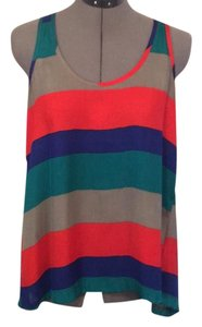 Jack by BB Dakota Top Red green blue