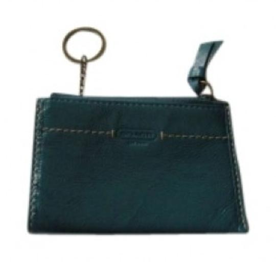 Preload https://item2.tradesy.com/images/coach-dark-teal-patent-leather-skinny-wallet-158996-0-0.jpg?width=440&height=440