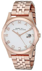 Marc by Marc Jacobs Marc by Marc Jacobs Women's Rose Gold-Tone Bracelet Watch MBM3392