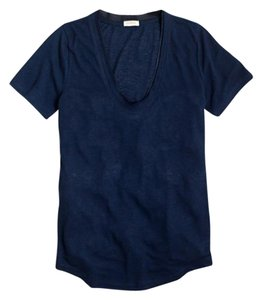 J.Crew Soft Short Sleeve T Shirt Navy