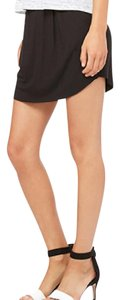 Bella Luxx Weekend Comfortable Errands Athleisure Mini Skirt Black