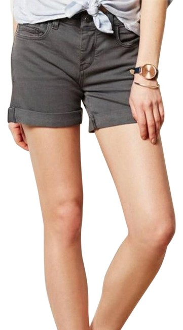 Item - Gray Pilcro and Letterpress Shorts Size 6 (S, 28)