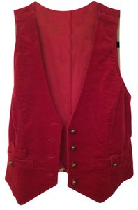 Sweet Tater Corduroy Cropped Boho Hippie Vest