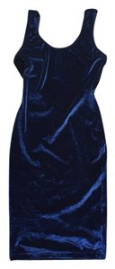 American Apparel Crushed Velvet Velvet Dress