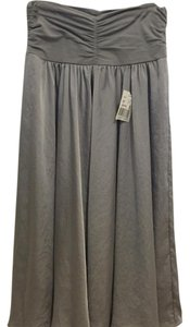 CAbi Skirt Gray; Grey; Silver