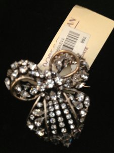 Balenciaga BALENCIAGA EDITION AUTHENTIC NWT CRYSTAL BOW BROOCH