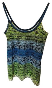 No Boundaries Top Blue/Green