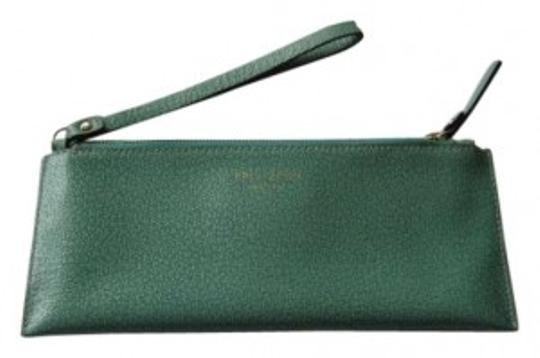 Preload https://item2.tradesy.com/images/kate-spade-dark-mint-green-leather-wristlet-159016-0-0.jpg?width=440&height=440