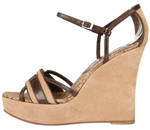 Dior Wedges Brown Sandals