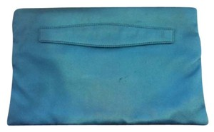 Prada Satin Blue Clutch