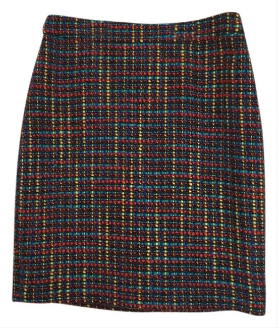 Kate Spade Skirt Black Multi