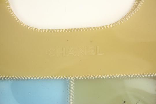 Chanel Cc Logo Tote Clear Shoulder Bag