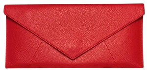 Levenger Leather Red Clutch