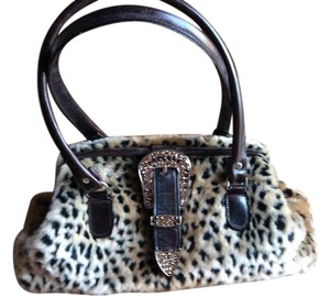 Raviani Satchel in Animal Print