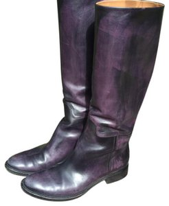 Moreschi Italy Black with purple wash Boots