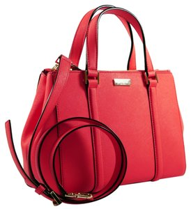 Kate Spade Loden Clearance Tote Satchel in Strawberry