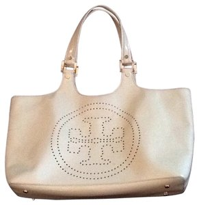 Tory Burch Tote in Light Yellow