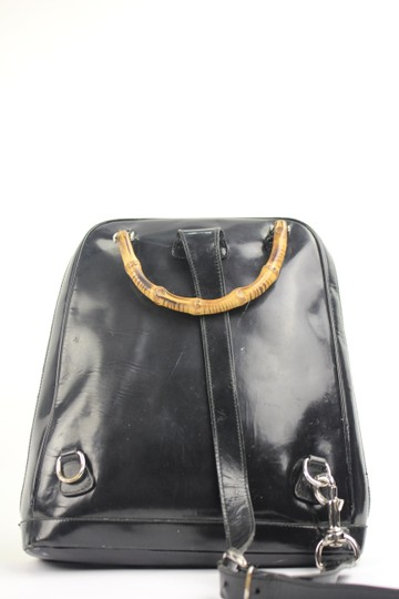 Gucci Patent Leather One Strap Backpack
