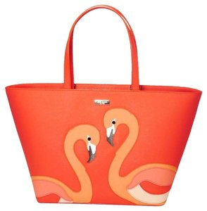 Kate Spade Tote in Salmon Light Pink Orange