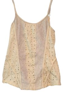 Free People Top Creme