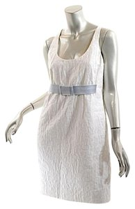 Michael Kors short dress White Jacquard Tank on Tradesy