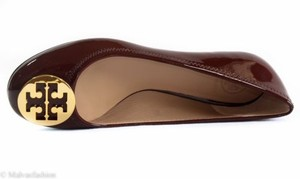 Tory Burch Patent Leather Reva Ballet Borscht Flats