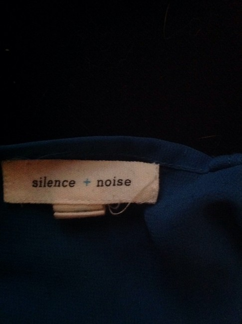 Silence + Noise Top Blue