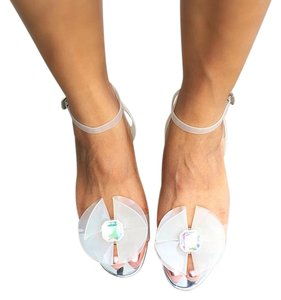 ASOS Clear Sandals