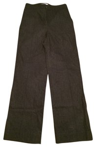 Max Mara Lightweight Wool Angora Trouser Pants Charcoal