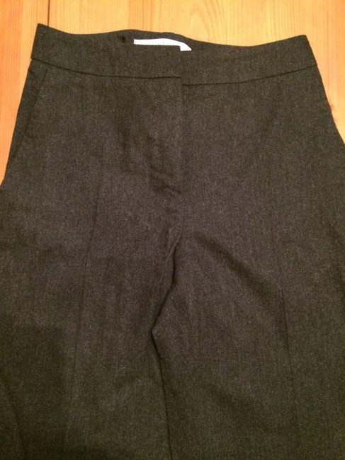 Max Mara Lightweight Wool Angora Professional Made In Italy Trouser Pants Charcoal Image 1