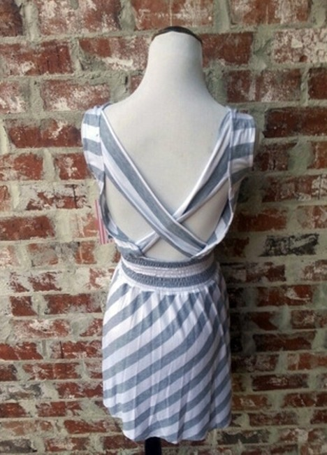 Keds short dress Striped Grey Cute on Tradesy Image 1