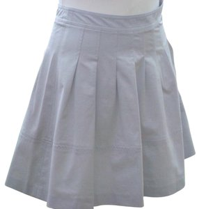 Theory A-line Skirt Taupe