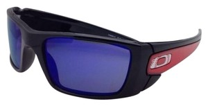 Oakley New Oakley Sunglasses MLB FUEL CELL OO9096-A1 LOS ANGELES ANGELS Black & Red Frame