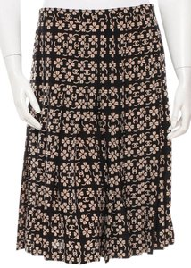 Chanel Interlocking Cc Monogram Cc Skirt Black, Brown, Gorl, Beige, Yellow