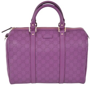 Gucci Purse Satchel in Purple