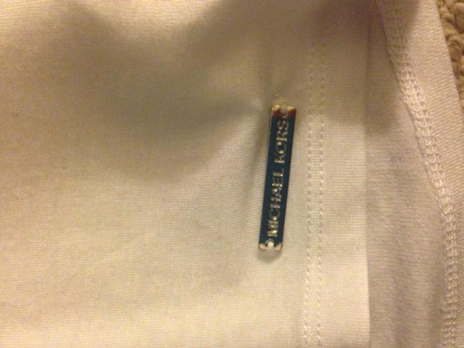 Michael Kors Top White with a silver chain Image 3