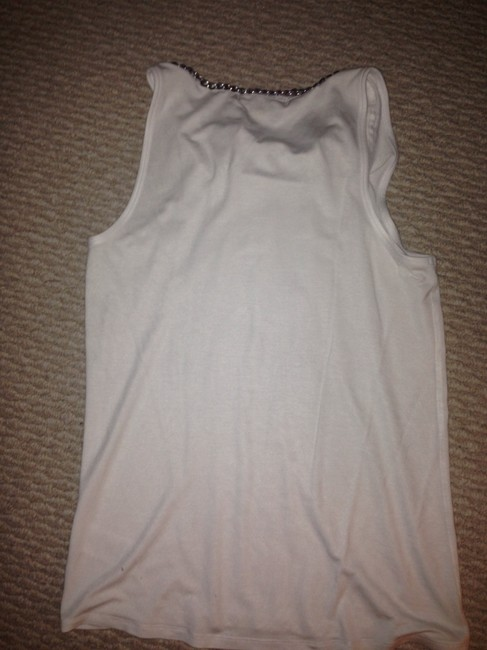 Michael Kors Top White with a silver chain Image 4