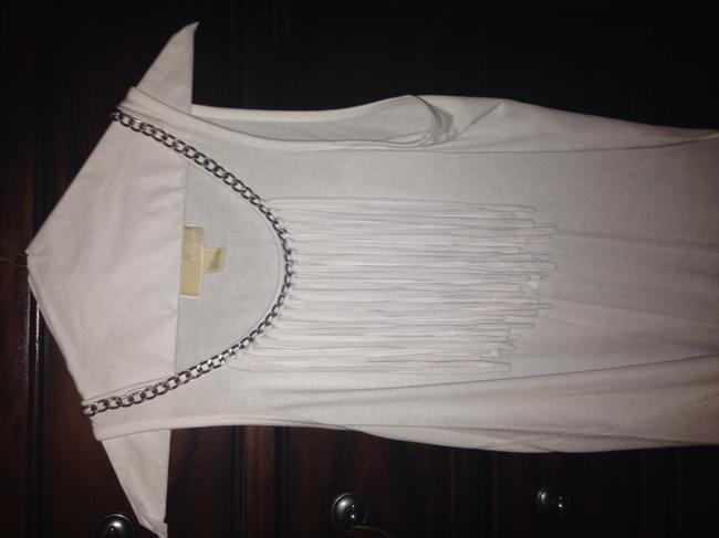 Michael Kors Top White with a silver chain Image 5
