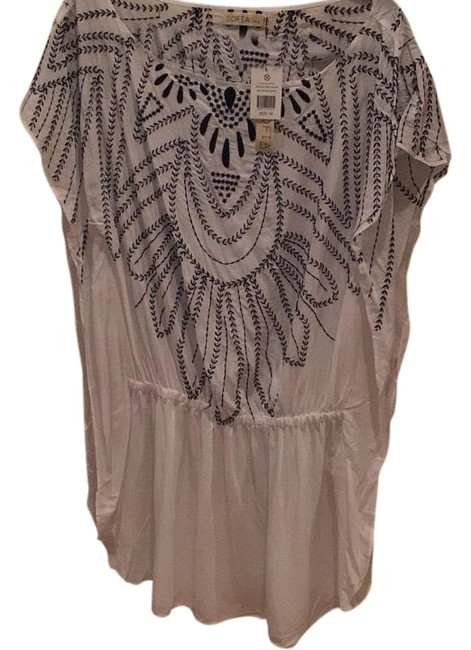 Item - White Cover-up/Sarong Size 8 (M)