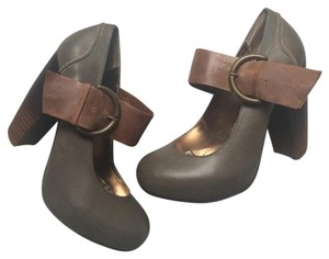 Dolce Vita Mary Jane Green/gray/taupe/brown Pumps