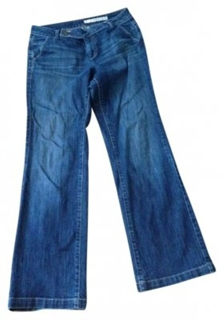 Preload https://item1.tradesy.com/images/dkny-blue-dark-rinse-trouser-button-boot-cut-jeans-size-32-8-m-159080-0-0.jpg?width=400&height=650