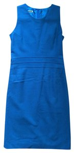 Jil Sander Shift Wool Cashmere Geometric Bodycon Dress