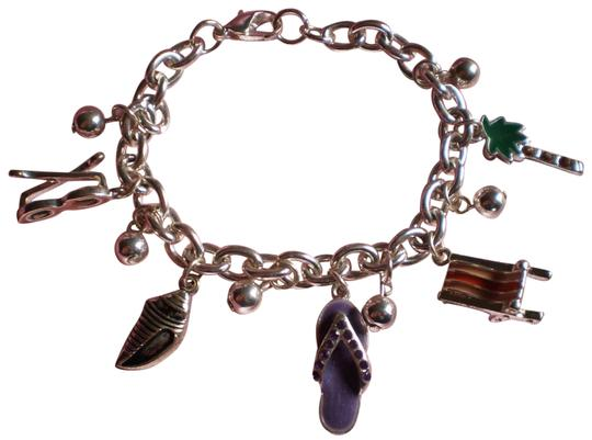 Unknown 'Summer Vacation' charm bracelet