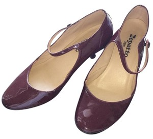 Repetto Burgundy Pumps