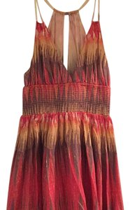Free People short dress Red Daytime on Tradesy