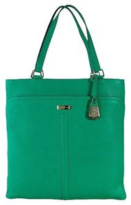 Cole Haan Village Marcy Market Hobo Tote in Emerald Green